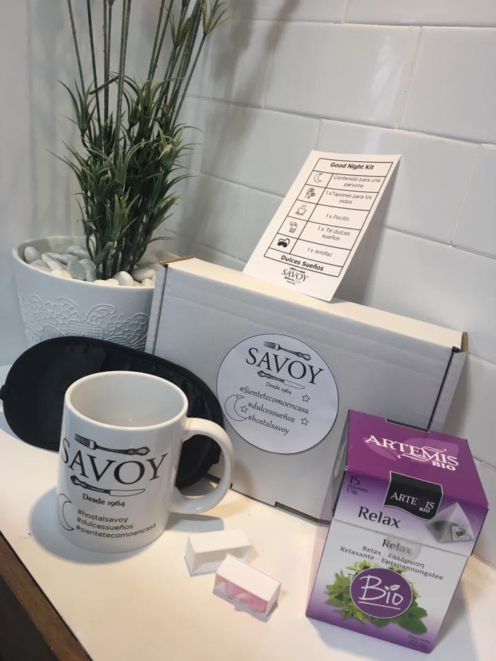 Good Night Kit By Hostal Savoy