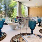 Comunión Montaje Azul - Comuniones Hostal Savoy