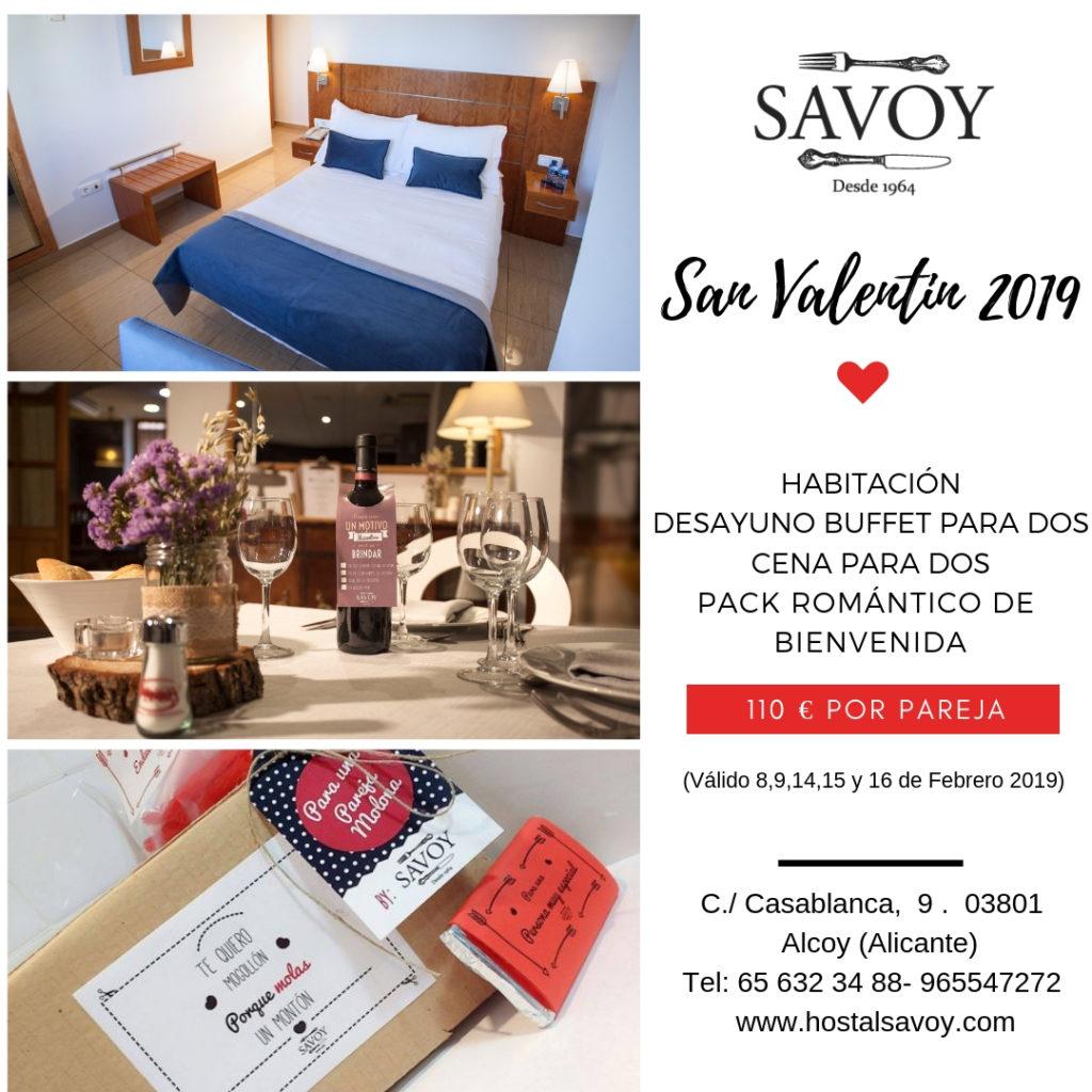 Promoción San Valentin 2019