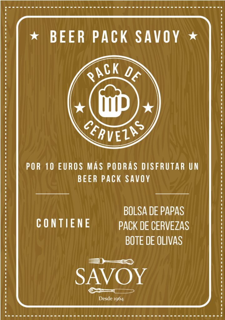 Beer Pack Savoy Alcoy