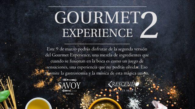 Gourmet Experience  2
