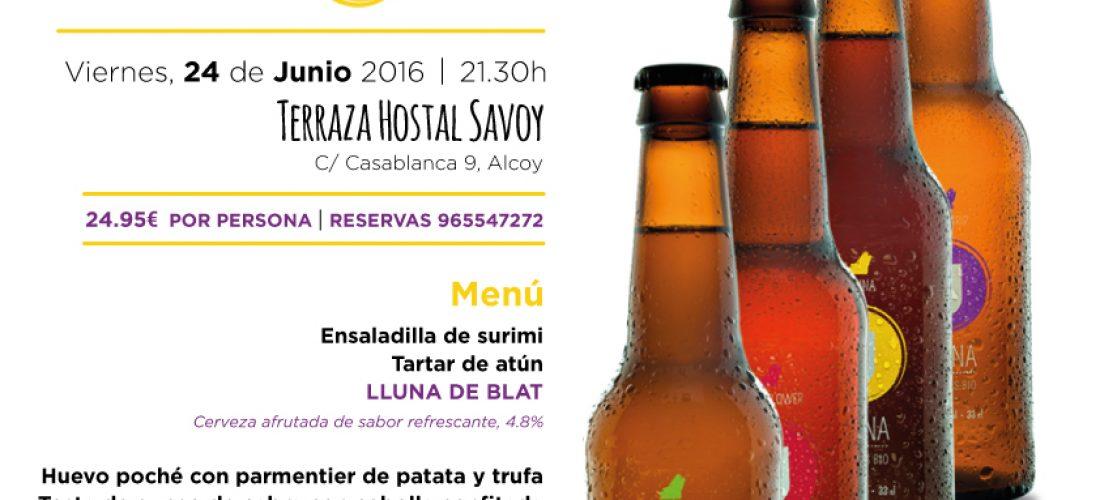 Cena Maridaje Junio 2016 – Hostal Savoy