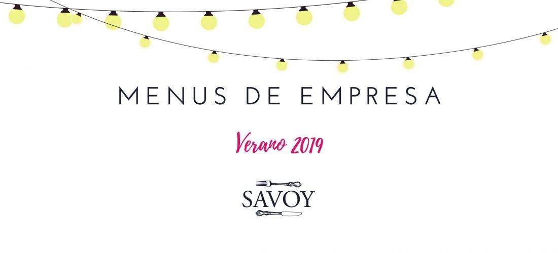 Comidas y Cenas de Empresa de Verano 2019