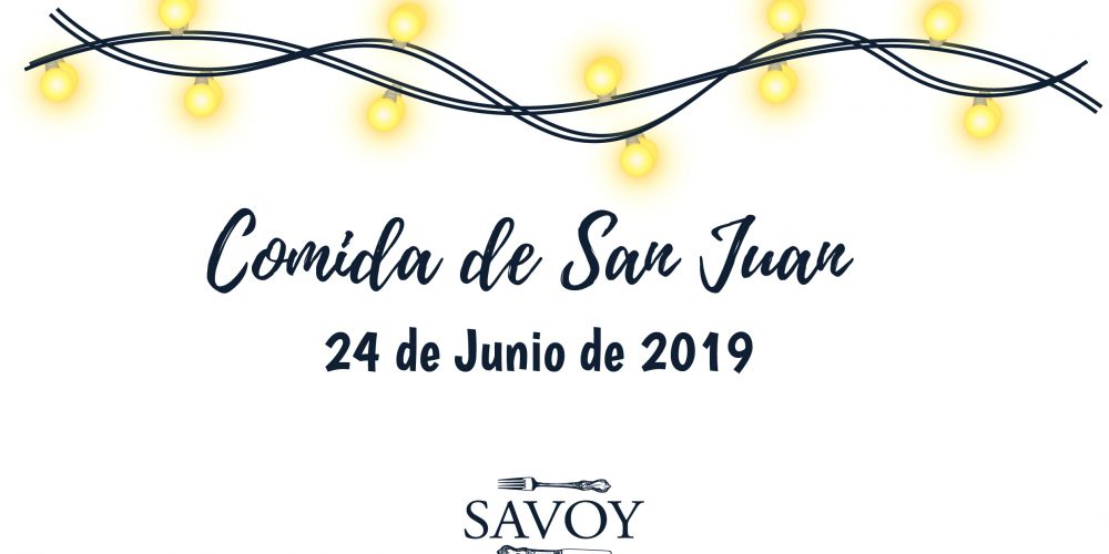 Comida de San Juan 2019
