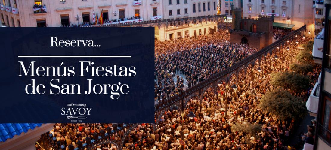 Comidas y Cenas Fiestas de San Jorge 2017