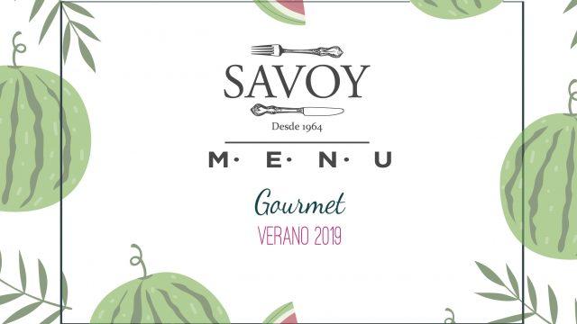 Menús Gourmet de Verano 2019