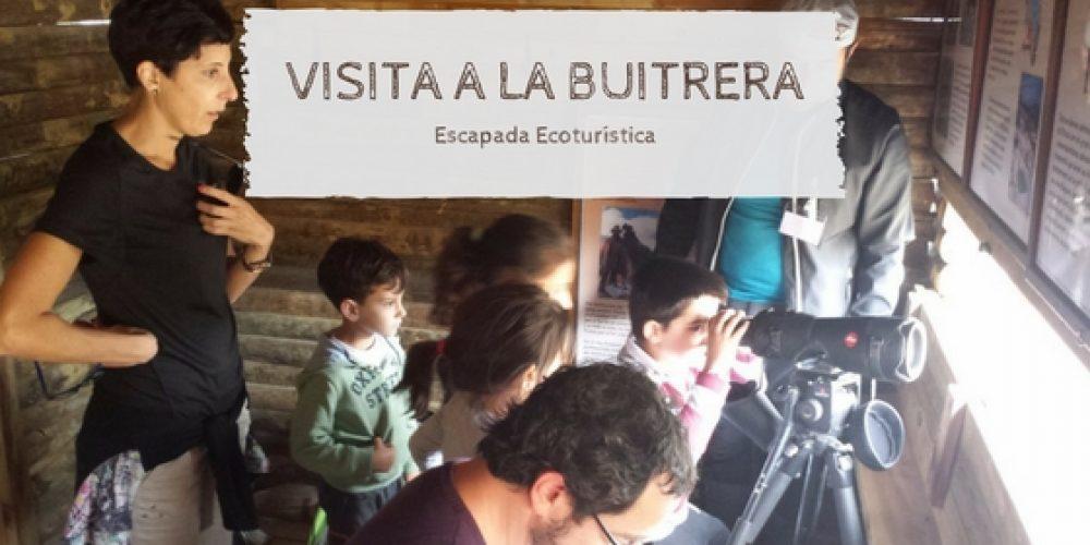 VISITA A LA BUITRERA EN FAMILIA