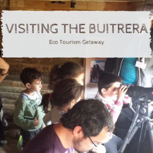 Exploring the Buitrera with the family