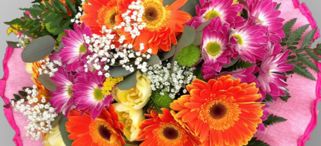 Surprise her with flowers