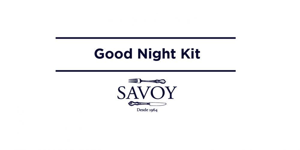 Good Night Kit By Hostal Savoy!!!